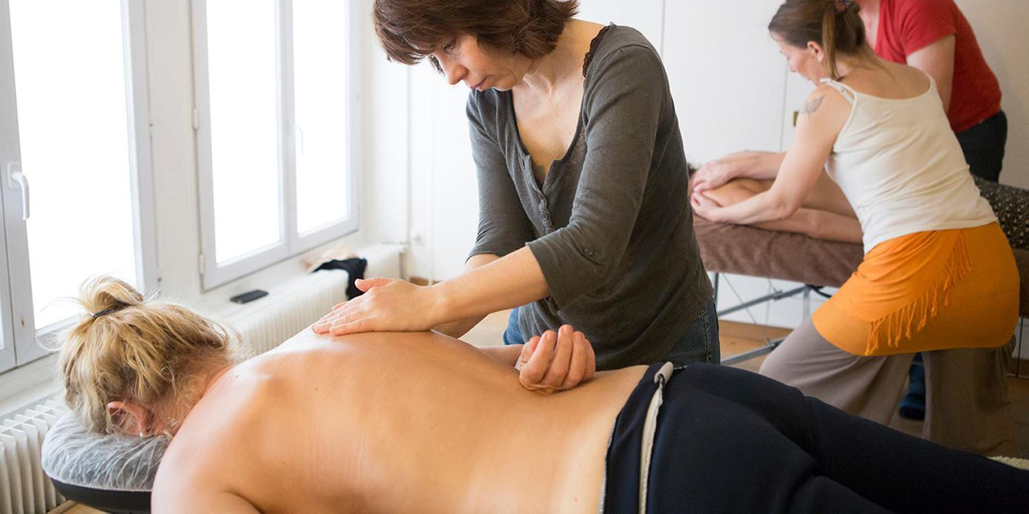 Centre de formation de massage à Paris